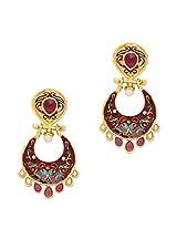 Beautiful Meenakari Earrings