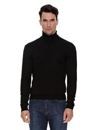 Versace Jersey Cuello Cisne (Negro)