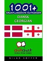 1001+ grundlæggende sætninger dansk - Georgian