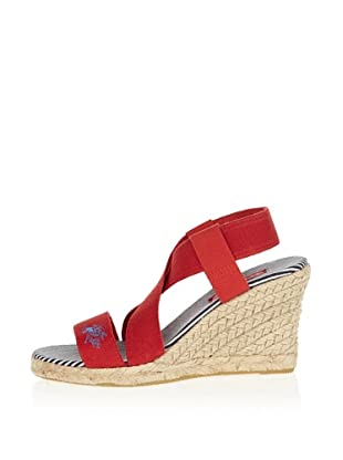 US Polo Assn Wedges Bella (Rot)