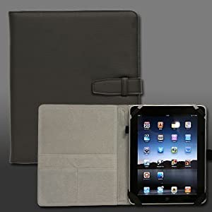 Brighton iPad専用レザーケース LEATHER CASE FOR iPad 黒 BI-PADFL/BK