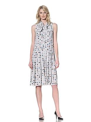 MARNI Women's Sleeveless Button-Front Dress (Frost Green)