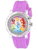 Disney Kids' PN1068 Watch with Pink Rubber Band