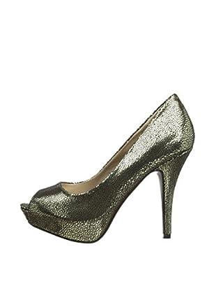 Victoria Delef Zapatos Peep Toe 14V0519 (Negro)