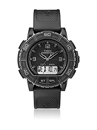Timex Reloj de cuarzo Man Expedition Shock Combo Blackout 45 mm