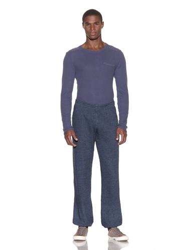 Gypsy 05 Men's Brushed Charcoal Basic Pant (Navy)