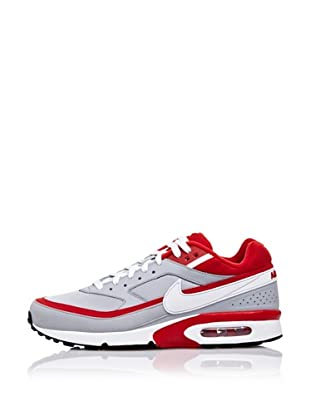Nike Zapatillas Running Air Classic Bw Textile (Gris / Rojo / Blanco)