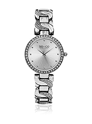 SO & CO New York Quarzuhr Woman GP15581 Silber