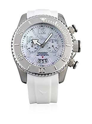 Vip Time Italy Uhr mit Japanischem Quarzuhrwerk VP8024WH_WH weiß 43.00  mm