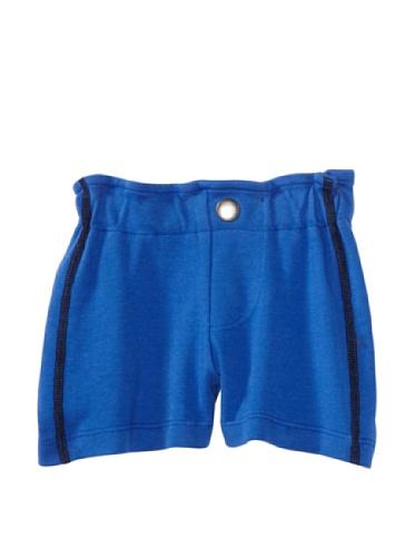 LA Lounge Boy's Cotton Jersey Shorts (Blue)