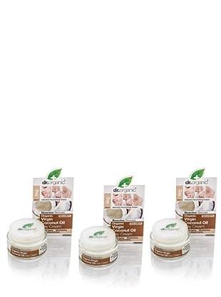 Dr.Organic Set 2 Cremas para el Cotorno del Ojo de Coco 50 ml (u)