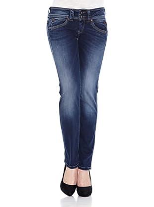 Pepe Jeans London Pantalón Vaquero Perival (Azul Denim)