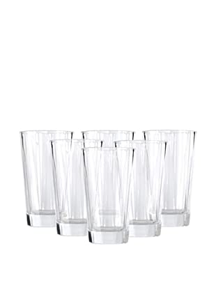 BergHOFF Set of 6 Club Highball Glasses