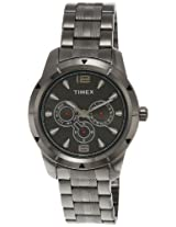 Timex E Class Analog Grey Dial Men's Watch - I601
