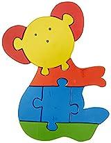 Skillofun Take Apart Puzzle Large - Bear, Multi Color
