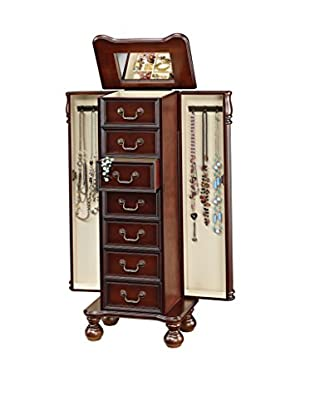 Acme Furniture Jewelry Armoire, Cherry