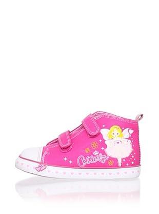 Pablosky Kid's Fairy High-Top Sneaker (Fuchsia)