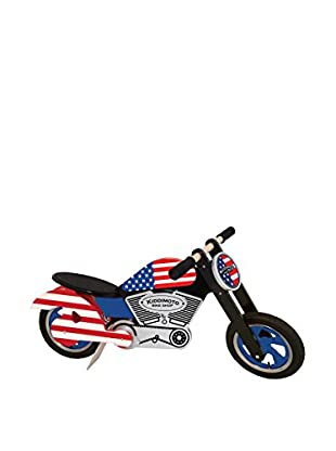 Kiddimoto Laufrad Chopper Easy Rider / USA rot