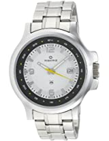 Maxima Attivo Analog White Dial Men's Watch - 24822CMGI