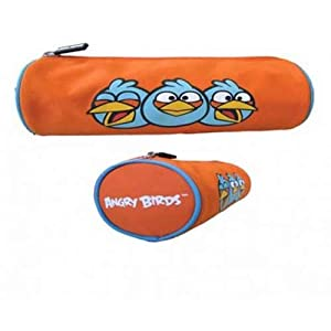 Angry Birds Pencil Pouches (Orange)