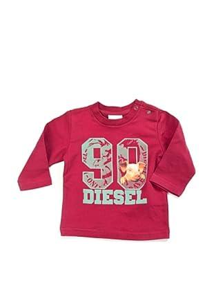Diesel Baby Longsleeve (Kirschrot)