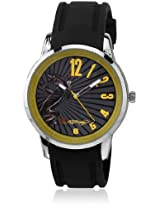 Eh 1120 Yw Black/Yellow Analog Watch