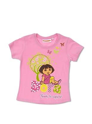 Licencias Camiseta Dora Exploradora (Rosa)