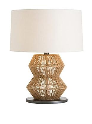 Arteriors Home Seasal Lamp, Light Brown/Off White