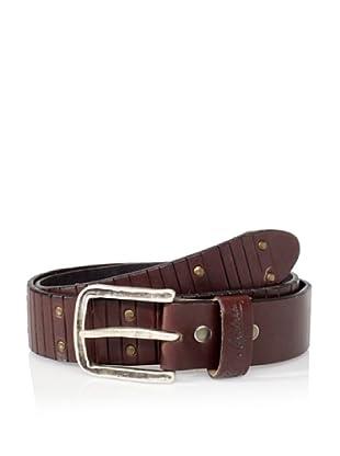 Robert Graham Men's Howell Leather Belt (Brown)