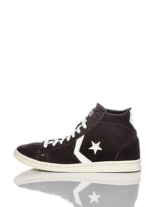 Converse Zapatillas Pro Leather (Chocolate / Blanco)