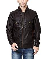 V Dot Men's Cotton Casual Jacket