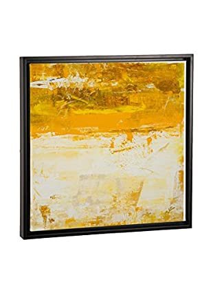 Julian Spencer Yellow Field Canvas Print