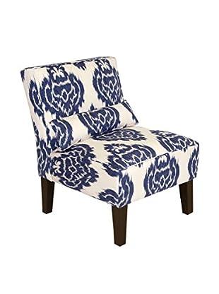 Skyline Furniture Armless Chair, Diamond Blue