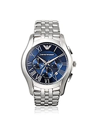 Emporio Armani Men's AR1787 Silver/Blue Stainless Steel Watch