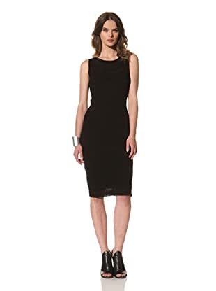M. Patmos Women's Abstract Ribbed Dress