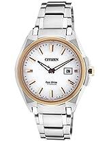 Citizen Eco-Drive Analog White Dial Men's Watch BM6936-51A