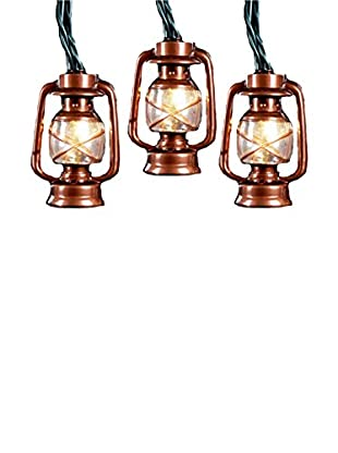 Kurt Adler Brass Lantern Light Set