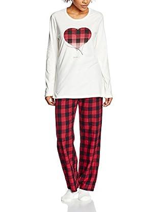 ESPRIT Pijama  Rojo ES 38 (DE 36)