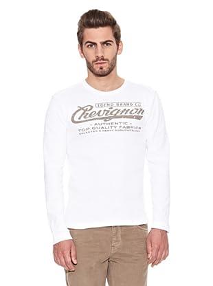 Chevignon Camiseta Print (Blanco)