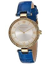Giordano Analog Silver Dial Women's Watch - A2039-03
