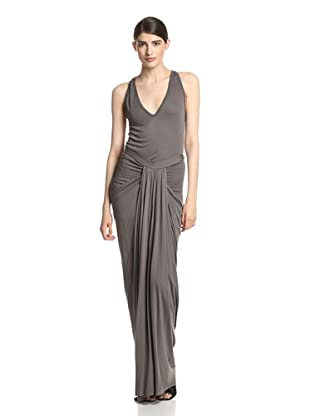Rick Owens Lilies Women's Draped Skirt (Dark Dust)