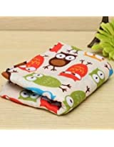 Owl Pattern Cotton Craft Fabric Textile Sewing Doll Cloth