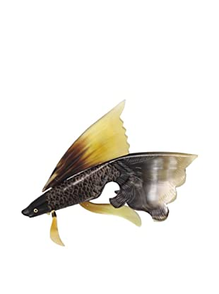 The HomePort Collection Pompom Goldfish Statuette