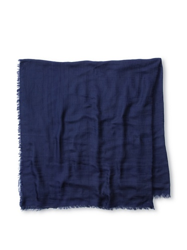 Givenchy Women's 4G Chessboard Scarf, Navy