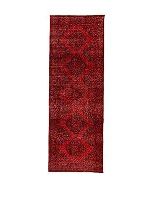 Design Community By Loomier Teppich Anatolian Vintage rot 146 x 418 cm