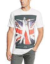 Bravado Men's Freddie Mercury Freddie Flag T-Shirt