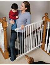 KidCo Angle-Mount Safeway Gate White