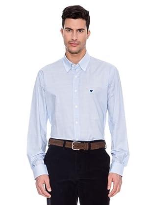 Caramelo Camisa Bullock (Azul)