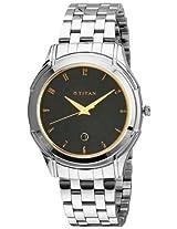 Titan Tycoon Analog Black Dial Men's Watch - NE1558SM02