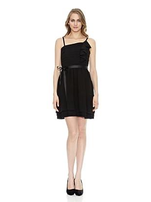 Naf Naf Vestido Tirantes (Negro)